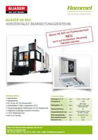 Sonderaktion Bearbeitungszentrum HX805 mit Heidenhain