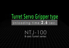 Dreh-Fräszentrum Nakamura-Tome NTJ-100 mit Revolver Servo Greifer