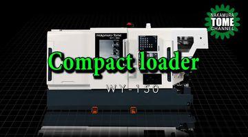 Dreh-Fräszentrum Nakamura-Tome WY-150 mit Kompaktlader