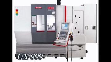 CNC-Bearbeitungszentrum Quaser UX600 - 5-Seiten-Bearbeitung V8-Motor