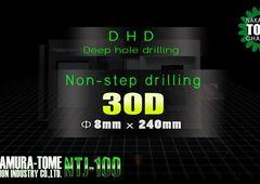 Dreh-Fräszentrum Nakamura-Tome NTJ-100 - Tieflochbohren 8 x 250 mm