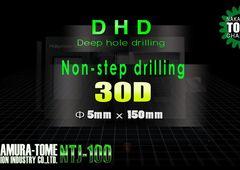 Dreh-Fräszentrum Nakamura-Tome NTJ-100 - Tieflochbohren 5 x 150 mm