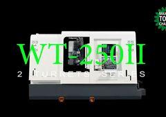 Dreh-Fräszentrum Nakamura-Tome WT-250II - Bearbeitung mit 2 Spindeln und 2 Revolvern
