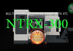 Dreh-Fräszentrum Nakamura-Tome NTRX-300 - Multitasking mit ATC