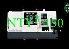 Dreh-Fräszentrum Nakamura-Tome NTY³-150 - Bearbeitung mit 2 Spindeln, 3 Revolvern und 3 Y-Achsen