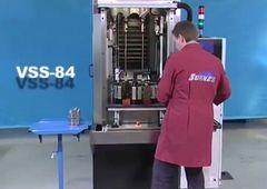 Kreuzschleifmaschine/Honmaschine Sunnen VSS2 84 - hydraulic_block