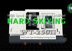 Dreh-Fräszentrum Nakamura-Tome WT-250II - Skiving von harten Werkstoffen