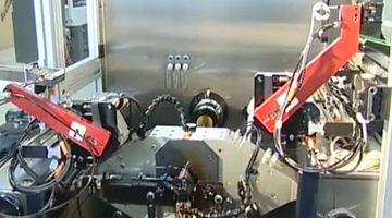 Kreuzschleifmaschine/Honmaschine Sunnen KGM5000 - robot-palett-changer
