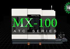 Dreh-Fräszentrum Nakamura-Tome MX-100 mit Kompaktlader