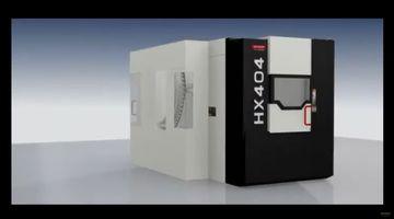 CNC-Bearbeitungszentrum Quaser HX 404 - Highlights